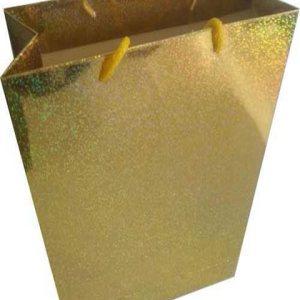 dore hologramlı karton canta