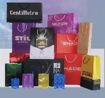 Ofset Baskılı karton çanta örneği