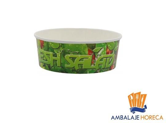 Bol din carton pentru salata