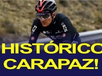 carapaz tercero tour de francia