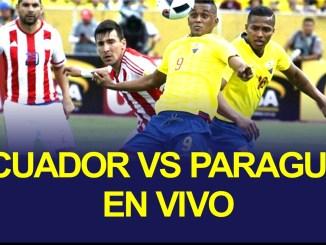 ecuador vs paraguay en vivo