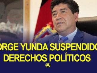 jorge yunda suspendido 3 años