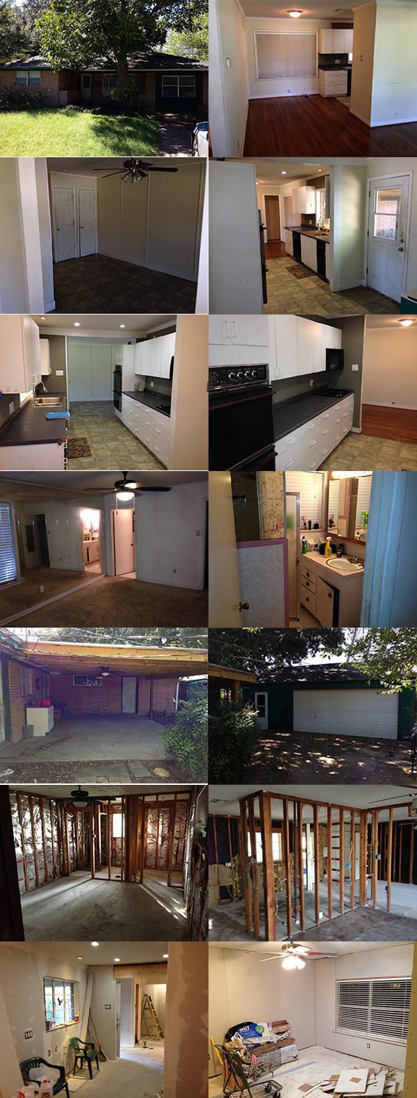 Before photos of #OliverHQ