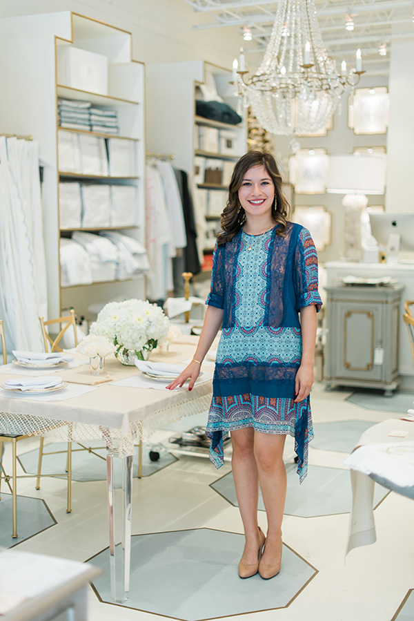 Mariana Barran. She is the founder and chief designer at Hibiscus Linens