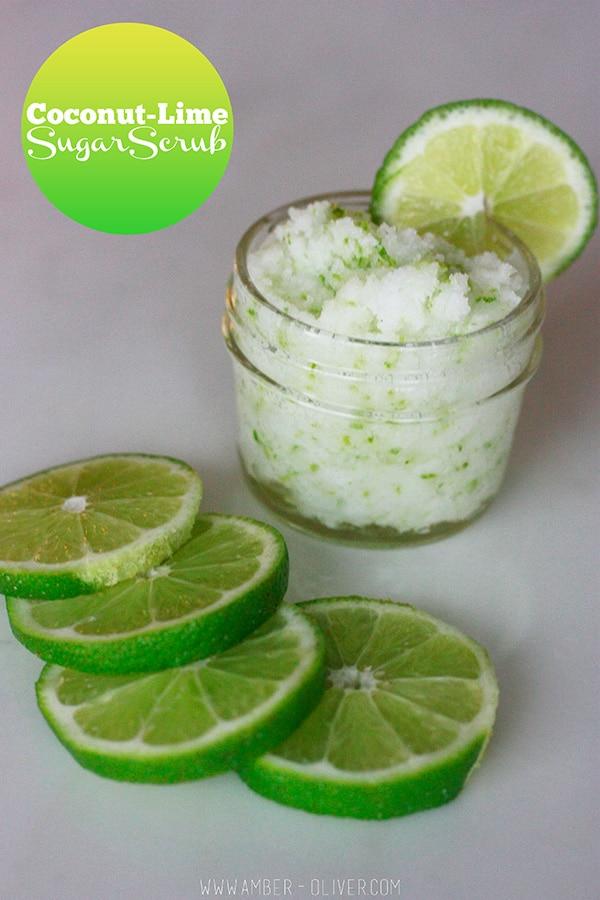 Coconut Lime Sugar Scrub by Amber Oliver
