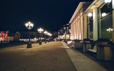 О фонарях Баден-Бадена