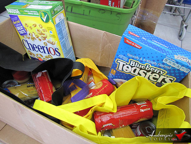 San Pedro Food Bank Sets to Feed the Needy