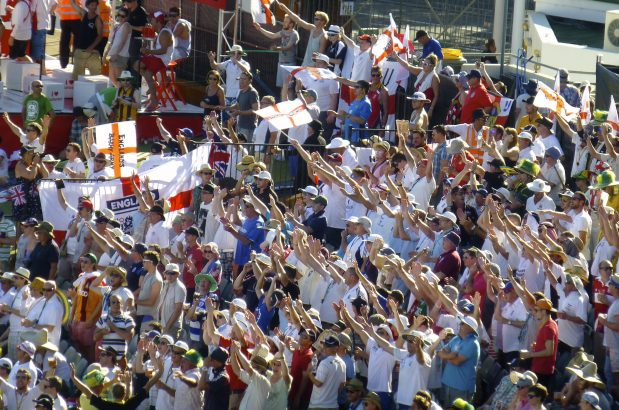 Ashes - England Cricket Team supporters