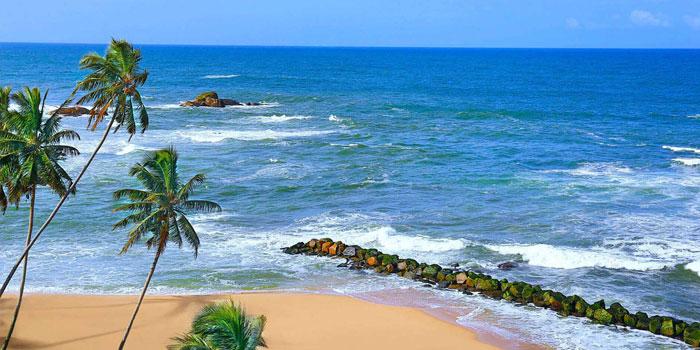 Beach at the Amari, Galle, Sri Lanka