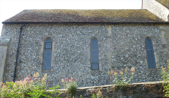 Chancel north wall (Audio Guide)