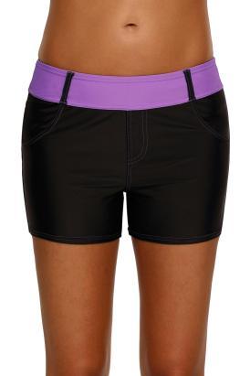 Onia Women's Coral Waistband Sports Shorts Summer Beach Board Shorts