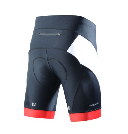 Aaron Mens Cycling Underwear Shorts 3D Padded Shorts White