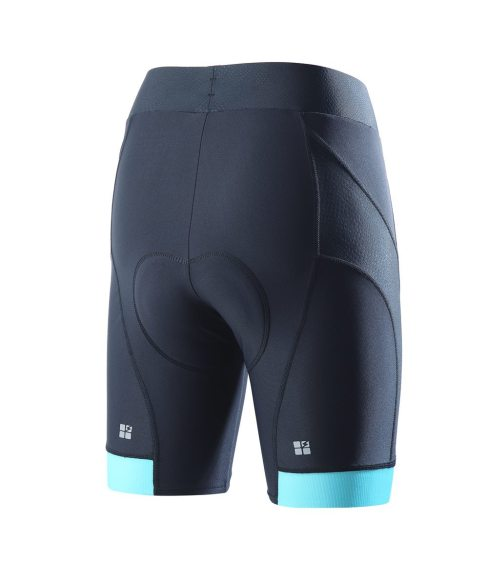 Beatrice Womens Cycling Underwear Shorts 3D Padded Shorts Blue