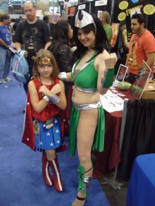 Lil' Wonder Woman and Amazonia, NYCC 2010