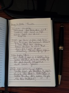 PAGE FROM MY JOURNAL