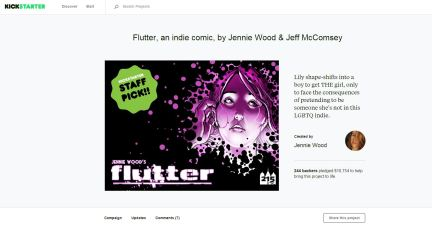 Crowdfunding: Kickstarter for FLUTTER