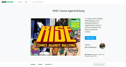 Crowdfunding: Kickstarter for RISE