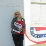 Amber Love as Leslie Knope