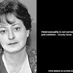 Dorothy Parker sexuality quote