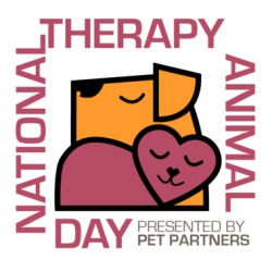 National Pet Therapy Day logo