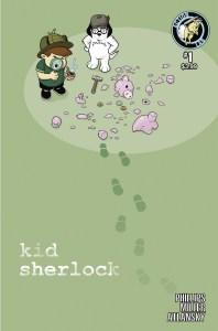 Kid Sherlock 1 cover B