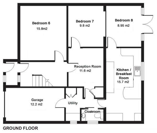 Ground Floor Plan Amberwood House