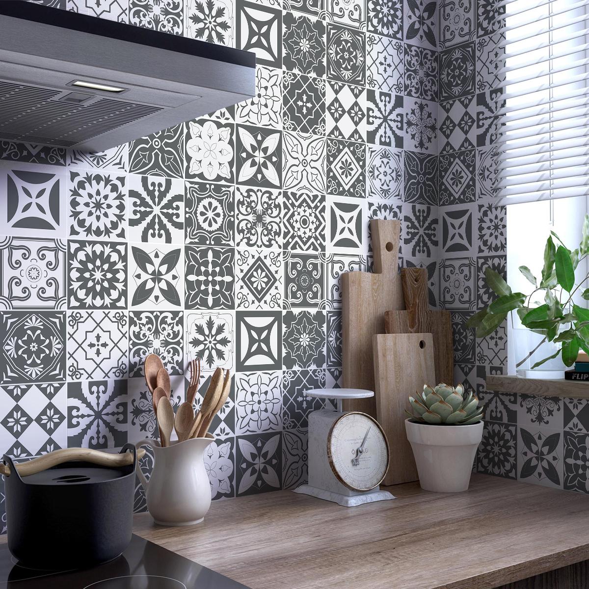 Awesome Frise Vinyle Cuisine Gallery - House Design - marcomilone.com