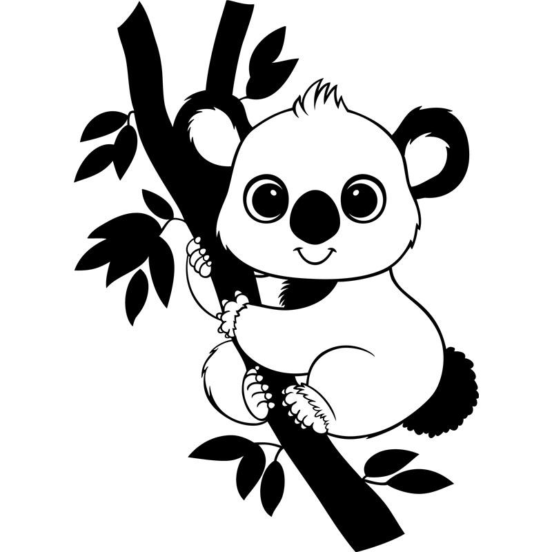 Sticker Bébé koala
