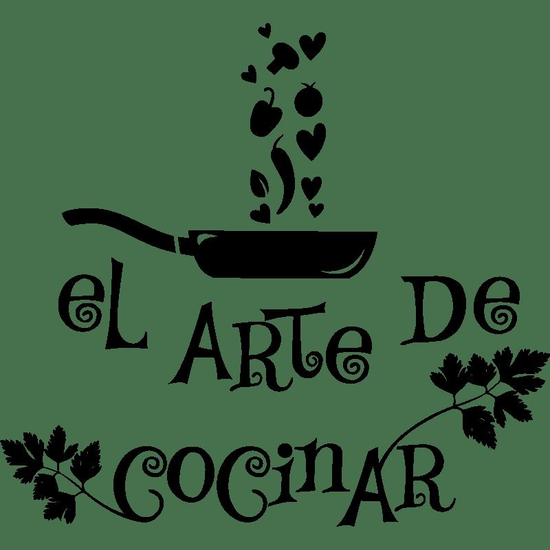 Sticker citation El arte de cocinar
