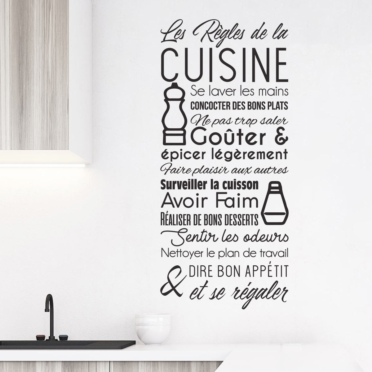 tableau design pour cuisine