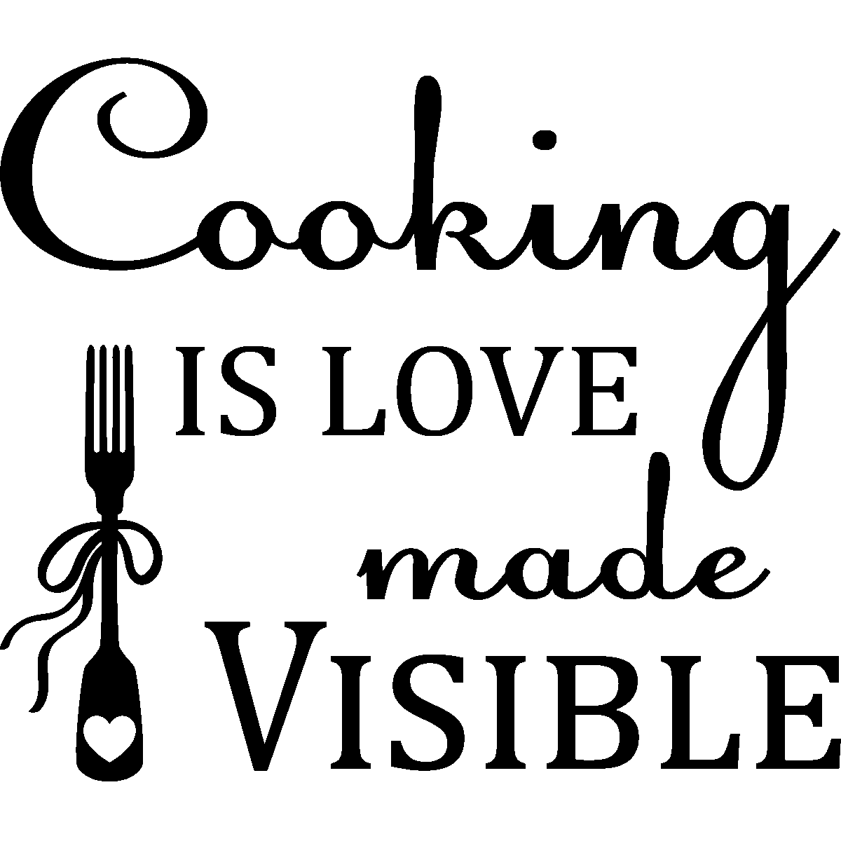 Sticker Cooking Is Love Made Visible Stickers Stickers