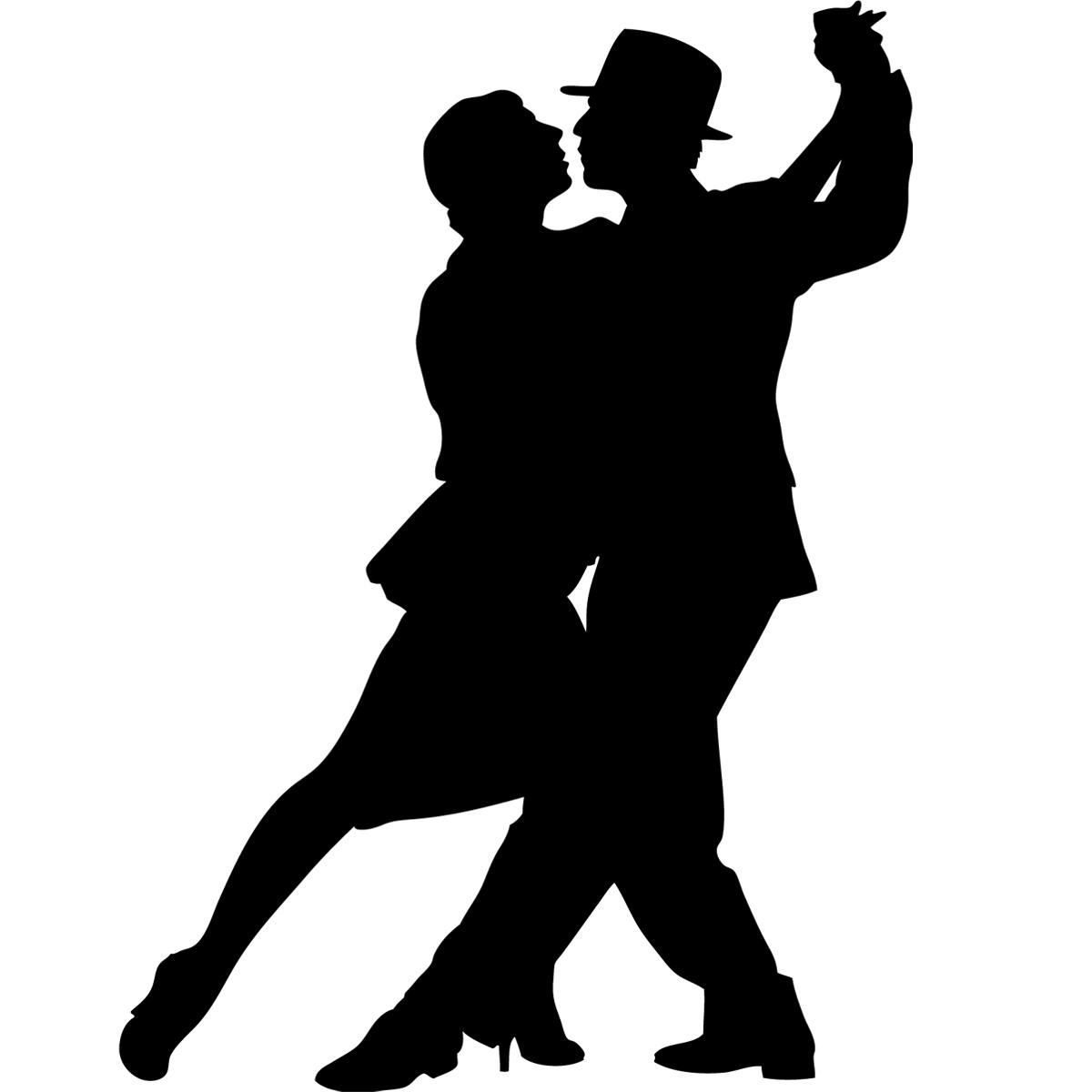2 way kiss line dance blank skull diagram anterior stickers de silhouettes et personnages danseurs tango