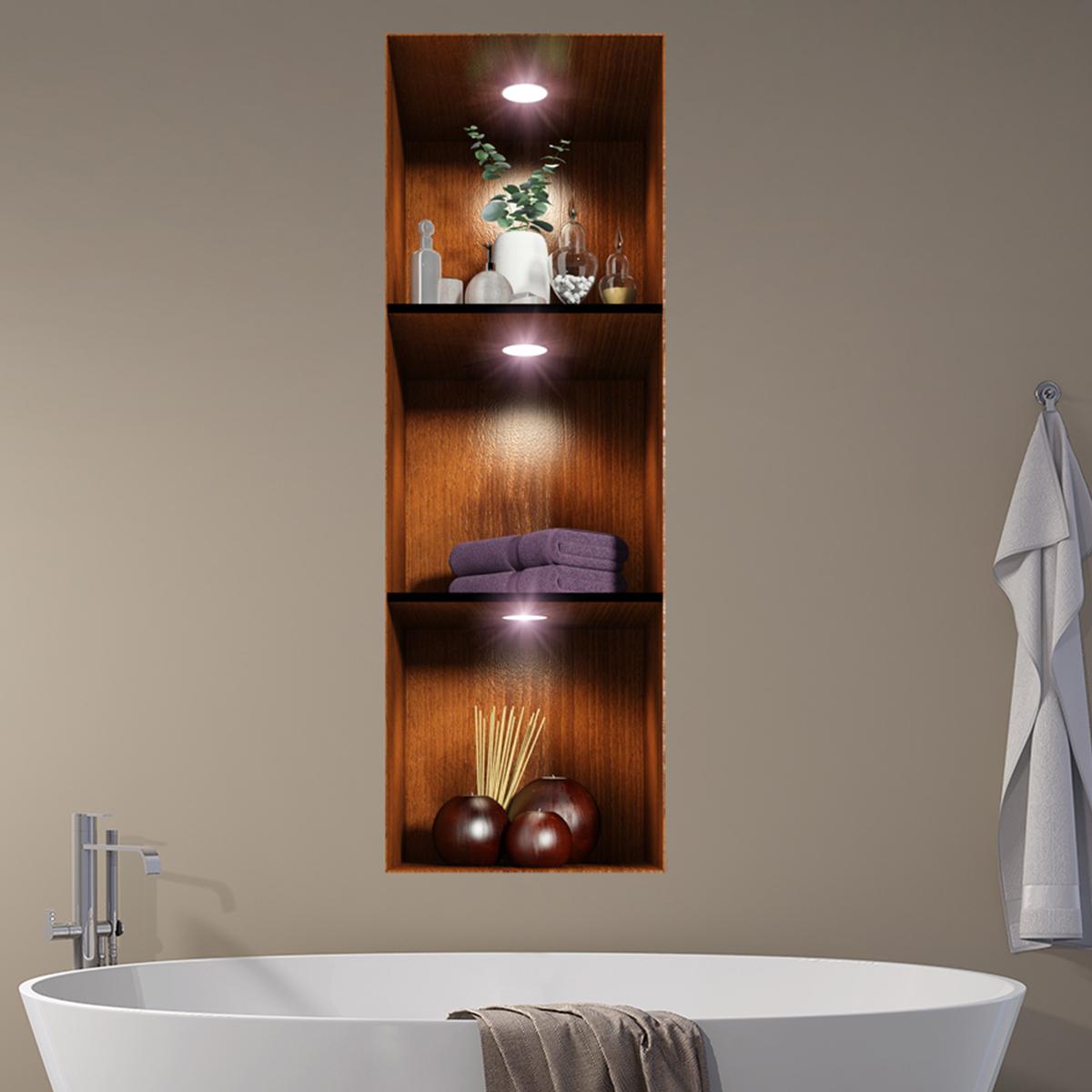 Sticker effet 3D Salle de bain Ambiance spa  Stickers STICKERS ART ET DESIGN Artistiques