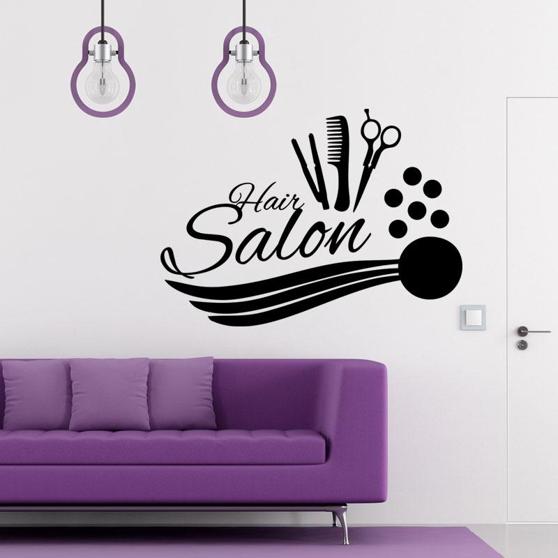 sticker hair salon accessoires de coiffure