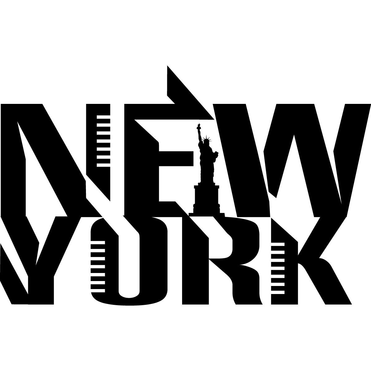 Stickers muraux Pays et Villes  Sticker Logo de New York