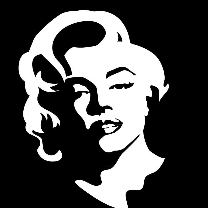 Marilyn Monroe stickers 3