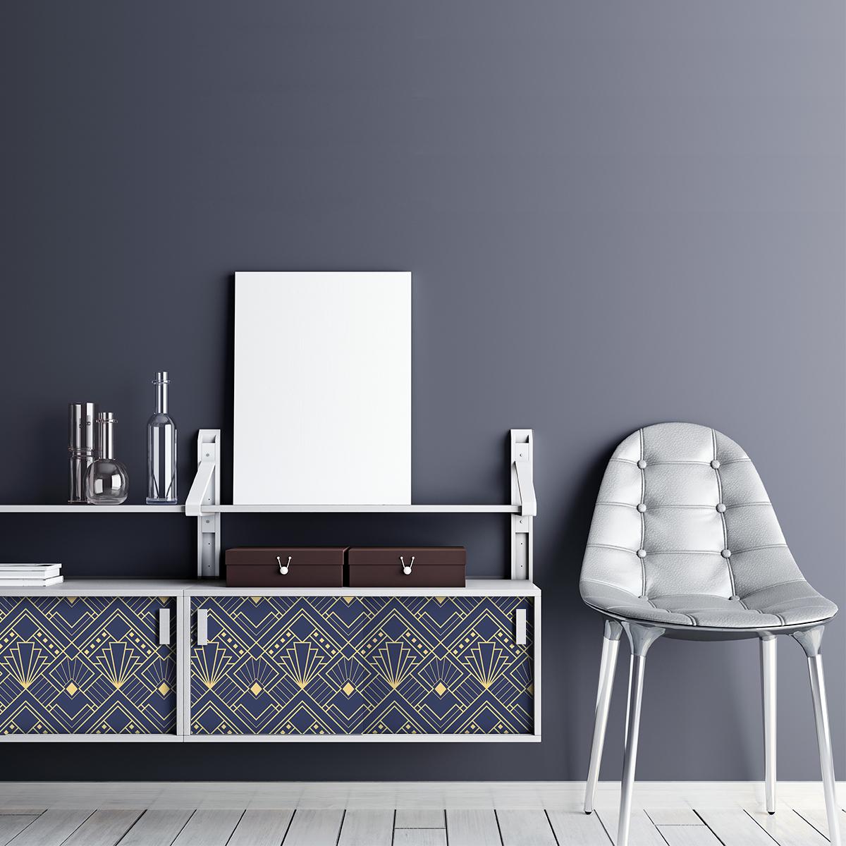 Sticker meuble scandinave erique  Chambre Meubles  Ambiancesticker