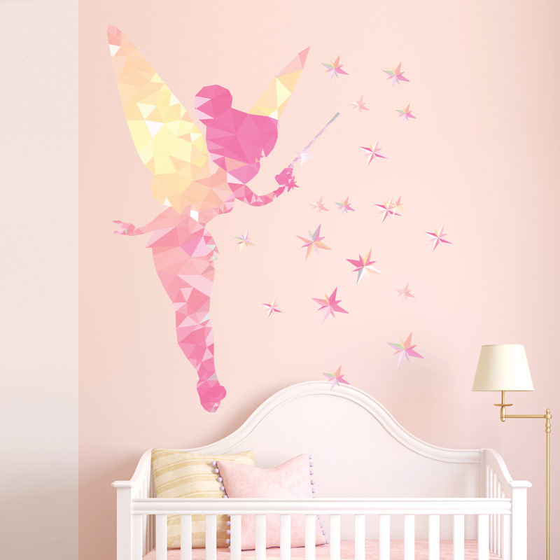 Sticker Origami la fe et les toiles  Stickers Filles Fes  Ambiancesticker
