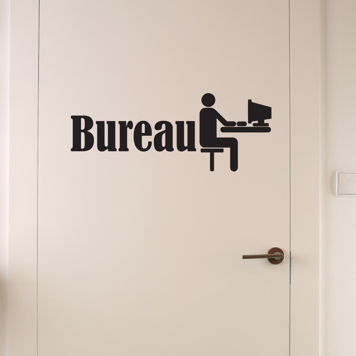 sticker muraux pour portes sticker bureau