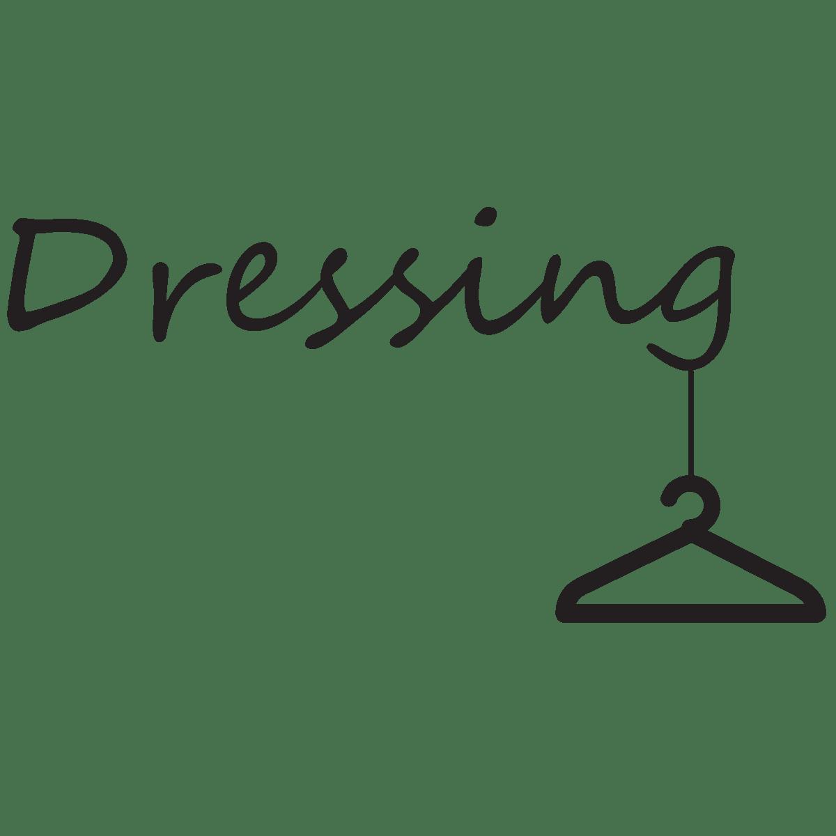 sticker pour porte dressing