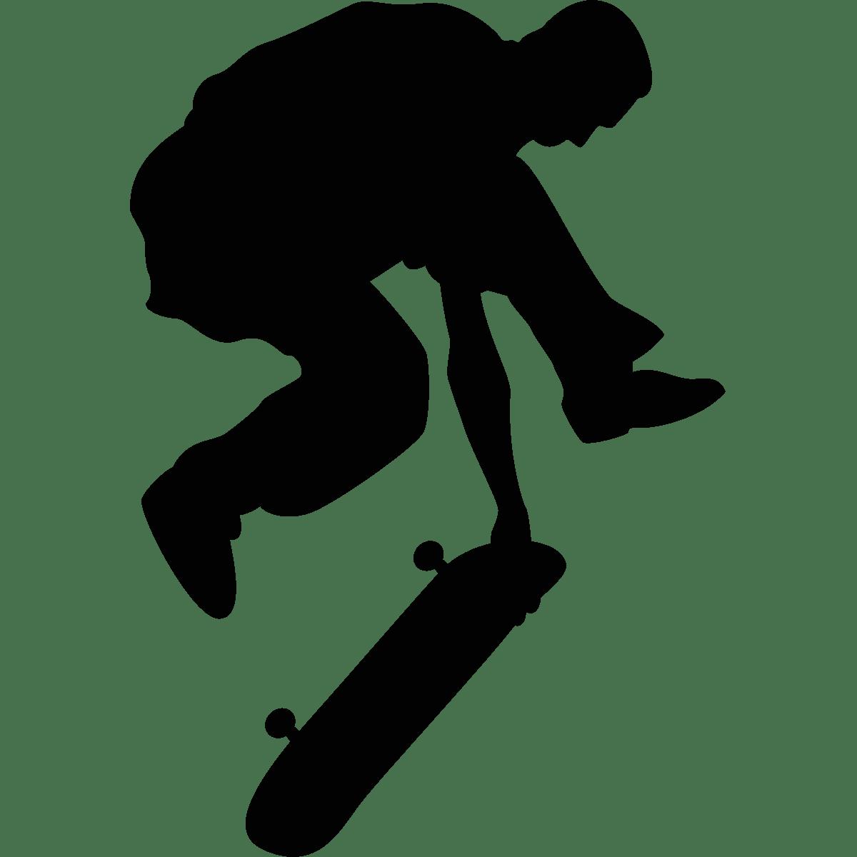 Sticker Skater free style  Stickers Musique  Cinema Silhouettes  ambiancesticker