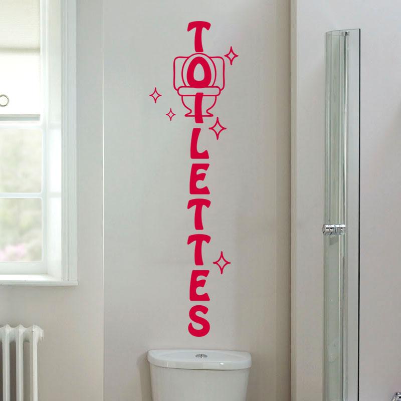 Sticker Wc Toilettes Design Stickers STICKERS TOILETTES