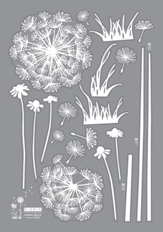 Stickers fleurs pissenlits  Stickers STICKERS NATURE Fleurs  Ambiancesticker