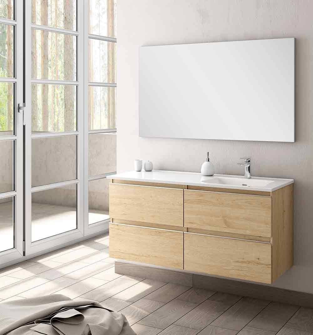 Meuble De Salle De Bains Moderne Type Modena Simple Ou Double Vasque Ambiance Carrelages