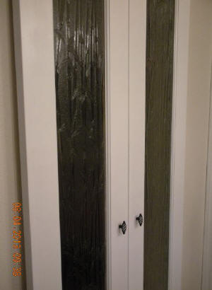 Textured Glass Interior Doors Interior Door With Bamboo