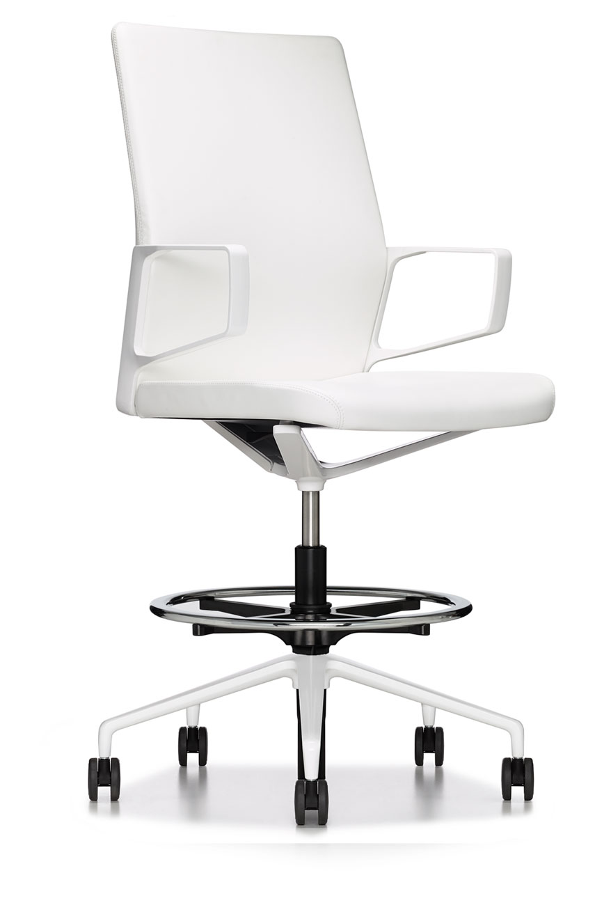 ergonomic work chair back support pillow for white modern premium executive drafting - ambience doré