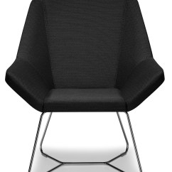 Modern Chairs Metal Shell Grey Angular Chair Ambience Doré
