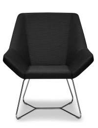 Grey Angular Modern Chair - Ambience Dor
