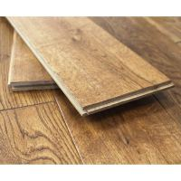 150mm Lacquered Wheat Solid Oak Wood Flooring 1.98m 18mm S