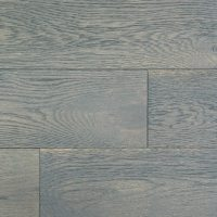 150mm Brushed & Lacquered Engineered Pebble Grey Oak Woo